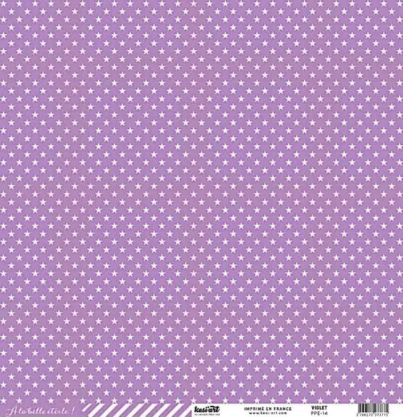 Kesi Art Ala belle etoile Sterne violett