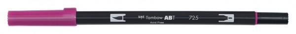 Tombow Dual Brush Pen - 725 - Rhodamine Rot