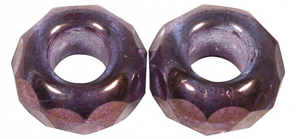 Glas Großloch PerleMagic Flair, 12mm ø pflaume