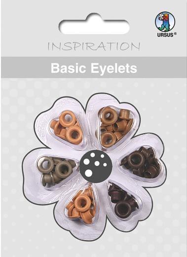 Eyelets Brauntöne