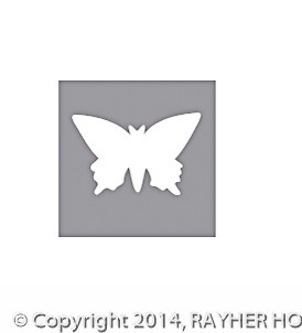 Rayher Motivstanzer Schmetterling 1,5 inch