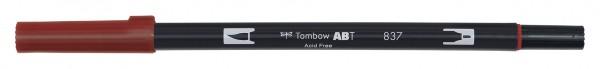 Tombow Dual Brush Pen - Wine Red - Weinrot