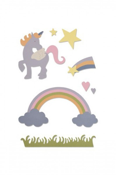 Sizzix Thinlits Magical Unicorn