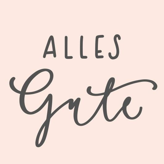 May & Berry Holzstempel - Alles Gute