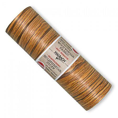Dekostoff Holzfunier selbstklebend braun 20 cm