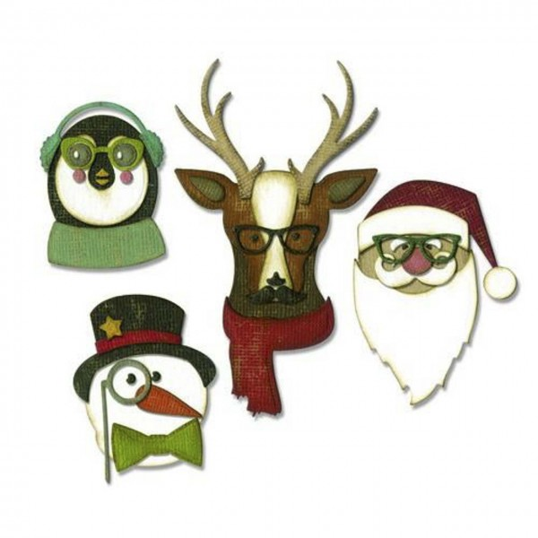 Tim Holtz Thinlits cool yule