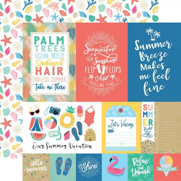 Echo Park Dive into Summer - Multi Journaling Cards