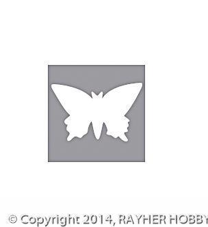 Rayher Motivstanzer Schmetterling 2 inch