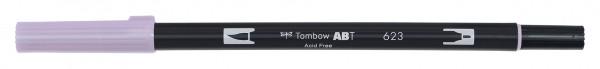 Tombow Dual Brush Pen - 623 - Sage Violett