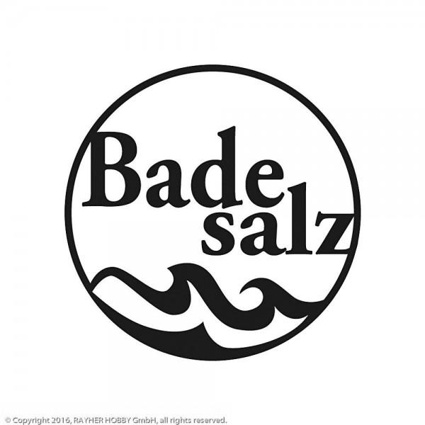 Rayher Holzstempel rund Badesalz