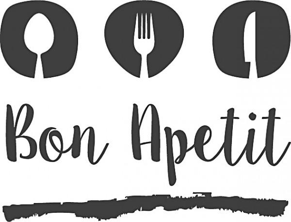 Heyda Holzstempel Bon Appetit