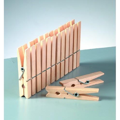 Holzklammern roh 72 x 10 mm
