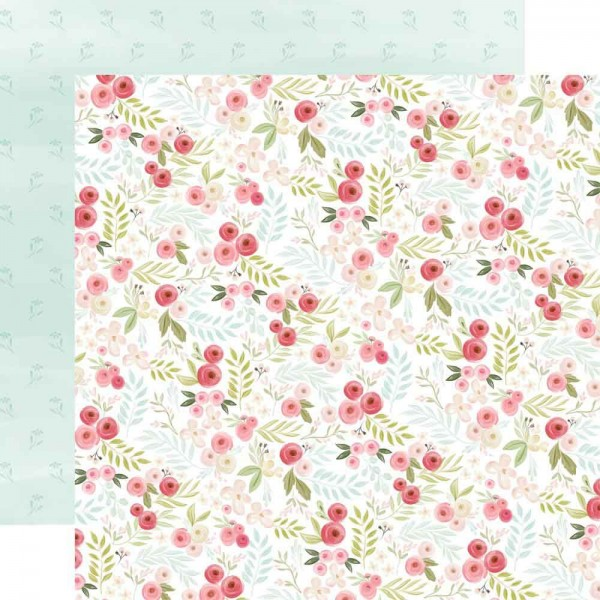 Carta Bella Flora No. 3 - Subtle small Floral