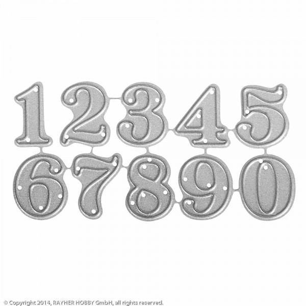 Stanzschabl. Set: Small Numbers