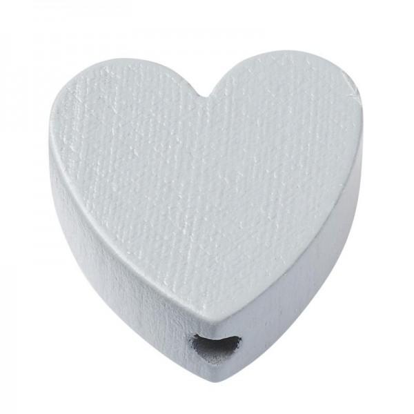 Schnulli Herz grau