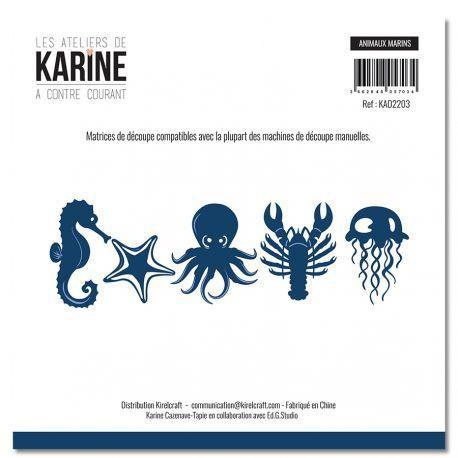 Les Atelier de Karine Die - Animaux Marins