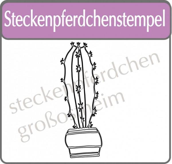 Steckenpferdchenstempel Kaktus 8
