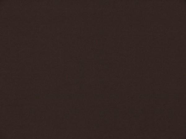 Jerseystoff Gitte dunkelbraun
