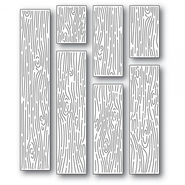 Memorybox Stanzdie - Wood Grain Planks