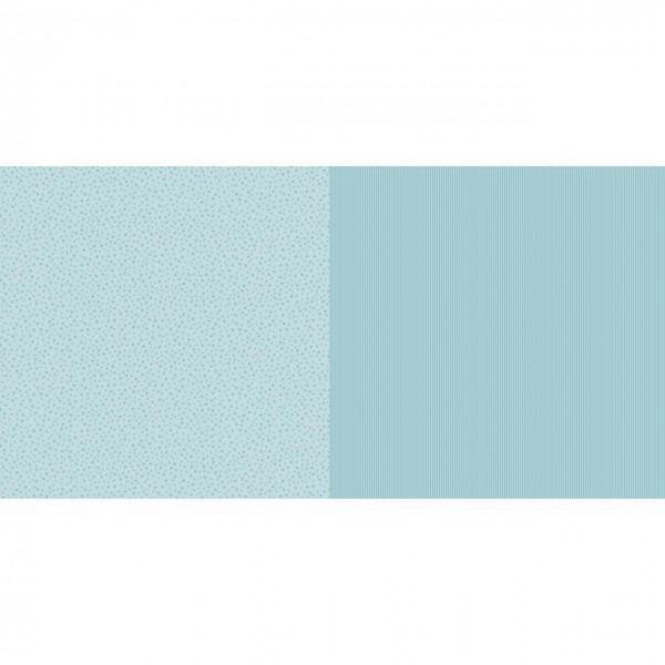 Dini Design Papier mini Sterne/Streifen Lagunenblau