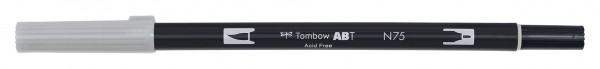 Tombow Dual Brush Pen - Cool Gray 3 - Grauton kalt 3