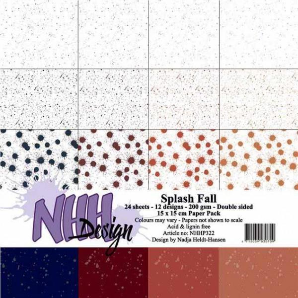Papier Pack 6 inch - Splash Fall