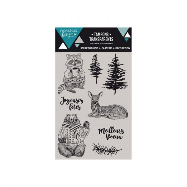 Florileges Clearstempel HIVER COSY