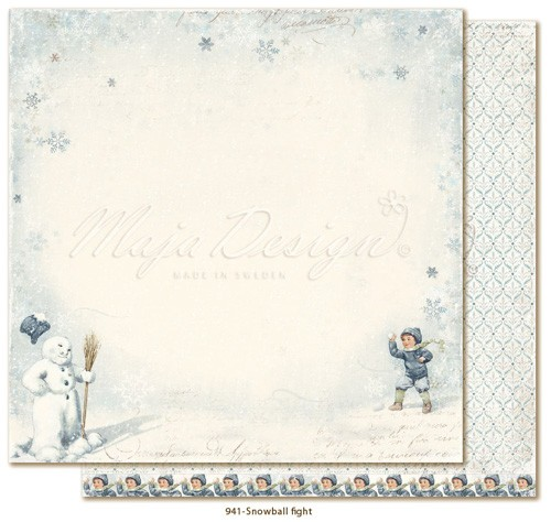 Maja Design Joyous Winterdays - Snowball fight