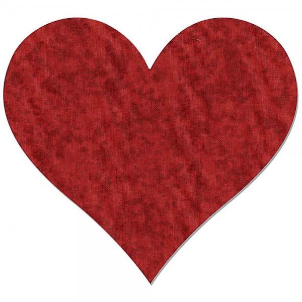 Sizzix Stanzdie Bigz Fabi Heart 3