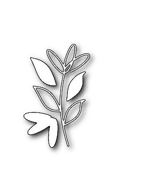 Memory Box Stanzdie sketch daisy