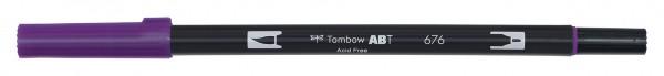 Tombow Dual Brush Pen - 676 - Königslila