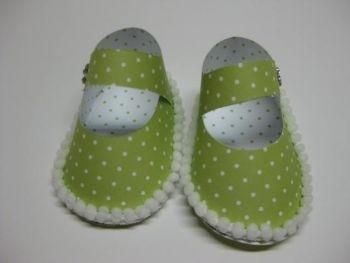 Schablone - Babyschuh