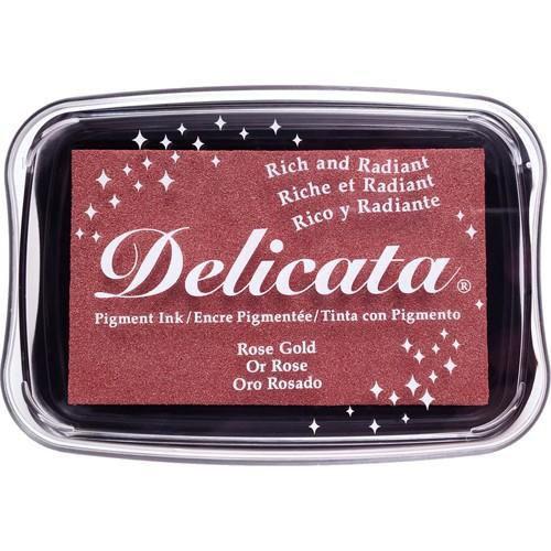 Delicata Pigment Ink - Rose Gold