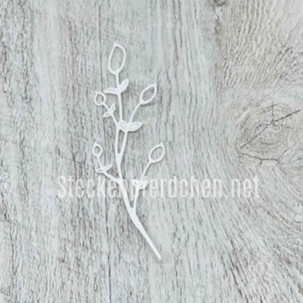 Steckenpferdchenstanze Blume filigran