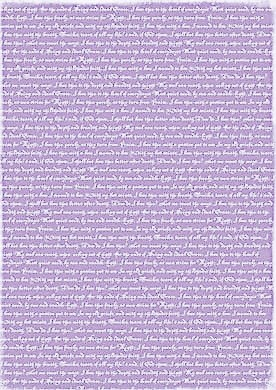Reprint Hobby Basic Collection Lightpurple Lyrics