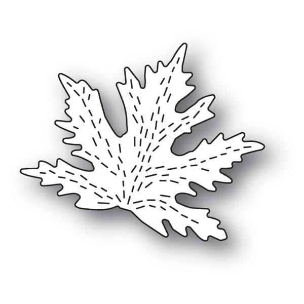 Poppystamps Stanzdie whittle maple leaf