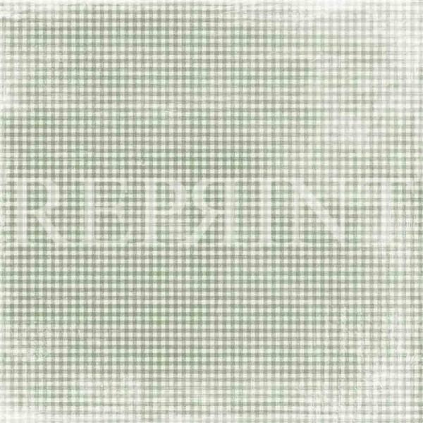 Reprint Swedish Fika Collection - Green Checkered