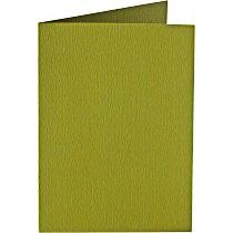 Papiocolor Doppelkarte B 6 moosgruen