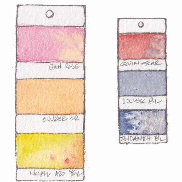 Stampingbella Paint chips