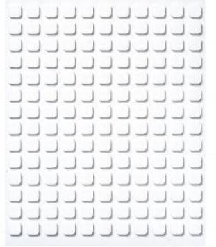 3-D Klebeplättchen