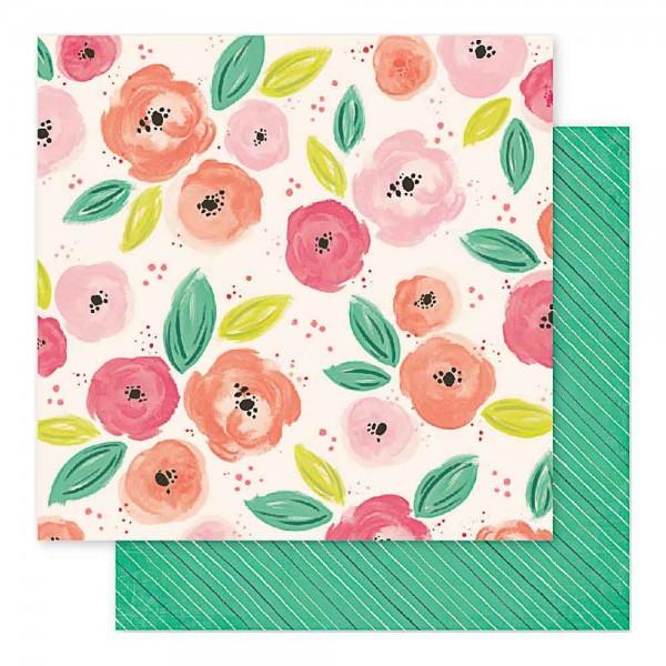Pink Paislee Fancy Free roses