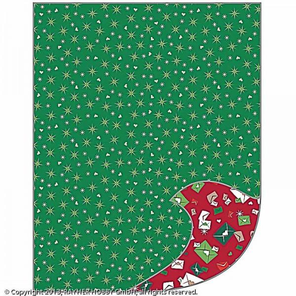 Bastelpapier A4+, Weihnachtspost