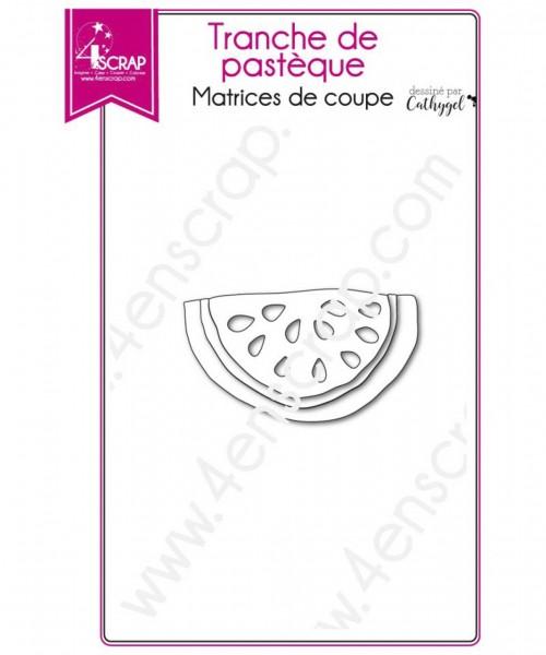 4en Scrap Stanzdie Set watermelon slice