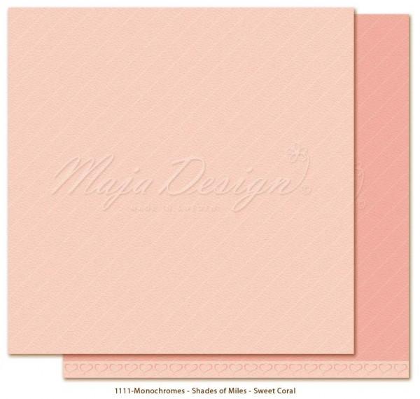Maja Design Monochromes - Shades of Miles - Sweet Coral