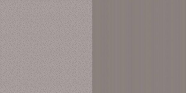 Dini Design Papier mini Sterne/Streifen Mokkabraun