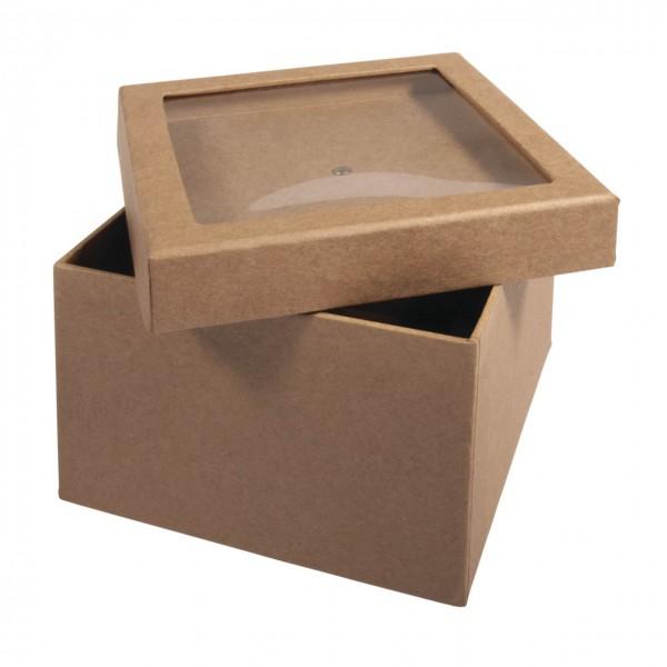 Rayher Pappmache Box mit Schütteldeckel klein