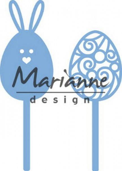 Marianne Design CreaTables Stanzdie Set Oster pins