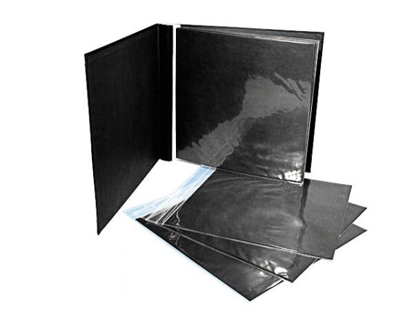 Album, geschraubt schwarz
