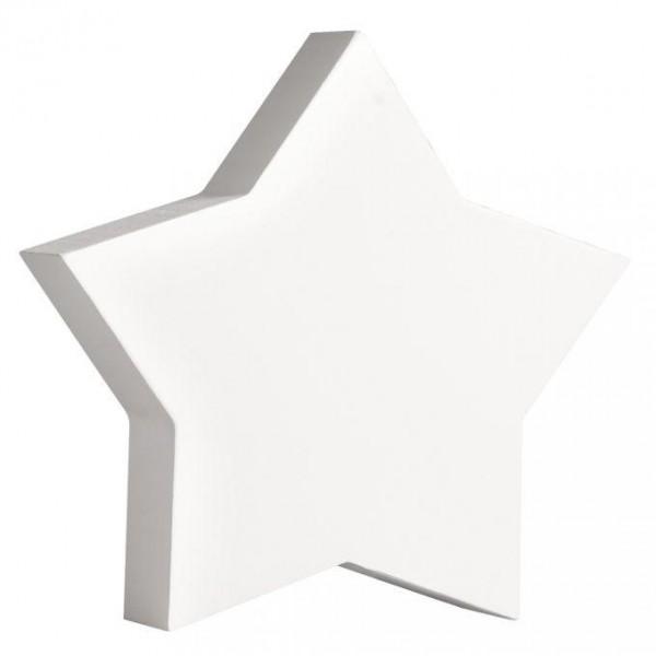MDF- Symbol Stern, weiß
