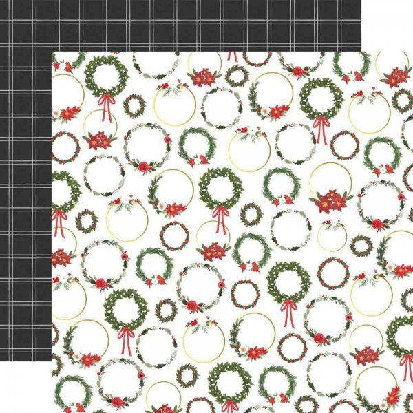 Carta Bella Happy Christmas - Wreaths